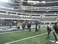 Visit to Dallas Cowboys stadium.